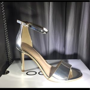 Aldo FIOLLA metallic stilettos NEW NBW